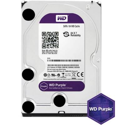 Твърд диск hdd 500gb sataiii wd purple 64mb for dvr/surveillance (3 years warranty), wd05purz