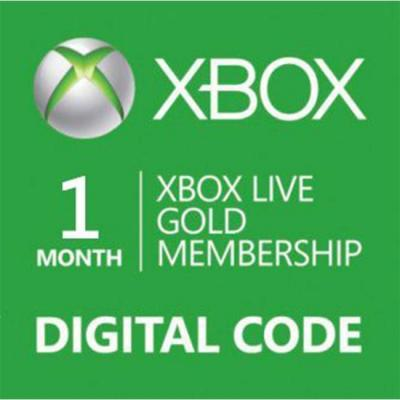 Ваучер xbox live 1 month gold card digital code, 14274160-1