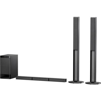 Тонколони sony ht-rt4, 600w 5.1 channel soundbar for tv with bluetooth and nfc, black, htrt4.cel