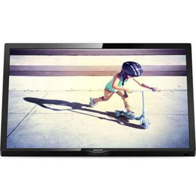 Телевизор philips 22 led tv, hd, dvb t2/c/s2, digital cristal clear, 200 ppi, 6w, 22pfs4022/12