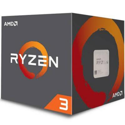 Процесор amd cpu desktop ryzen 3 4c/4t 1200 (3.1/3.4ghz boost,10mb,65w,am4) box, with wraith stealth cooler, yd1200bbaebox