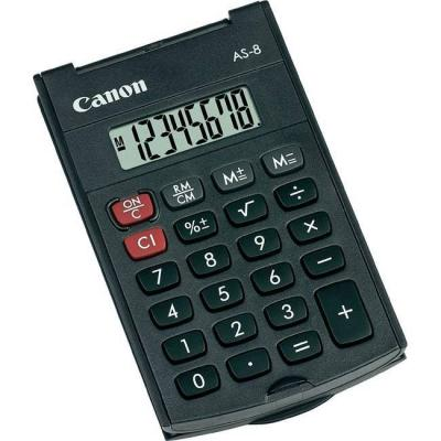 Калкулатор canon as-8 handheld calculator, 4598b001ab