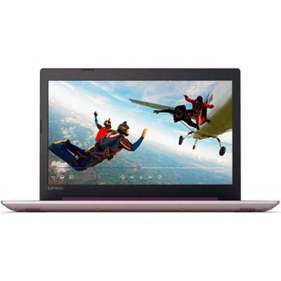 Лаптоп lenovo ideapad 320 15.6 hd antiglare n3350 up to 2.4ghz, 4gb ddr3, 1tb hdd, dvd, hdmi, gigabit, wifi, bt, hd cam, plum purple, 80xr00n4bm