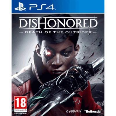 Игра dishonored: death of the outsider playstation 4 (ps4)