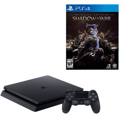 Конзола playstation 4 slim 500gb black, sony ps4+игра middle-earth: shadow of war