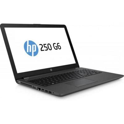Лаптоп hp 250 g6, intel n3060(1.6ghz, up to 2.48ghz/2mb), 15.6 инча hd ag, 4gb ddr3l 1dimm, 500gb hdd, free dos, черен, 1wy33ea