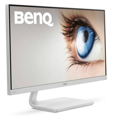 Монитор benq vz2770h, 27 инча wide va led, 4ms gtg, 3000:1, 20m:1 dcr, 300 cd/m2, 1920x1080 fullhd, vga, hdmi, бял, 9h.ledlb.25e