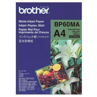Хартия brother bp-60 a4 matt photo paper (25 sheets), bp60ma