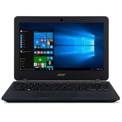 Лаптоп acer travelmate b117, intel celeron n3060 (up to 2.16 ghz, 2m cache), 11.6' hd (1366x768) anti-glare, hd cam, 4gb 1600mhz ddr3l, 64gb emmc