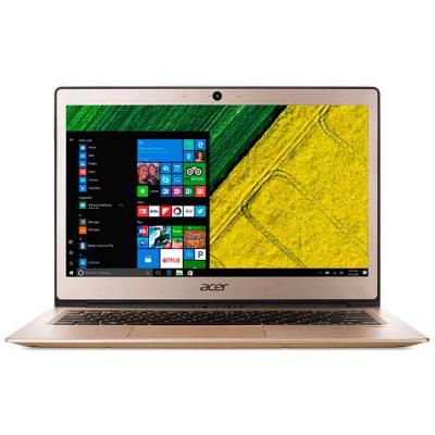 Лаптоп acer aspire swift 1 ultrabook, intel pentium n4200 quad-core (2.50ghz, 2mb), 13.3 инча ips fullhd (1920x1080) anti-glare, hd cam, 4gb ddr3, 128