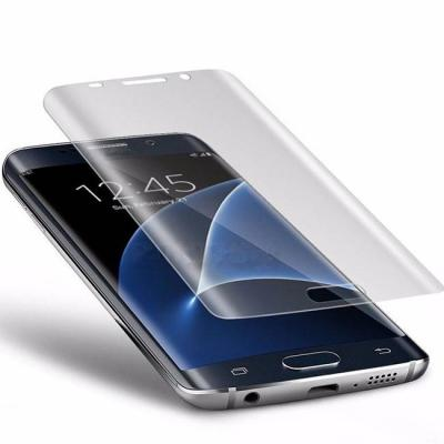 Стъклен протектор за samsung galaxy s9 3d curved glass tempered screen protector film, черен, galaxy s9 protector