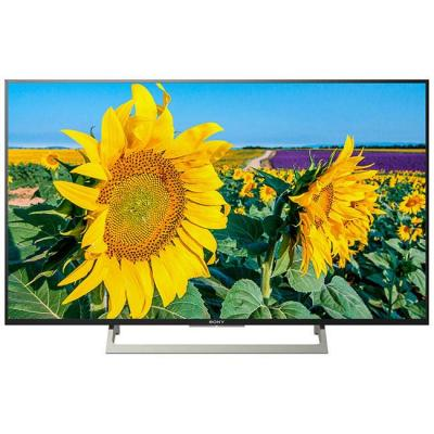 Телевизор sony kd-43xf8096 43 инча 4k hdr tv, edge led with frame dimming, processor 4k x-reality pro, android tv 7.0, xr 400hz, черен, kd43xf8096baep