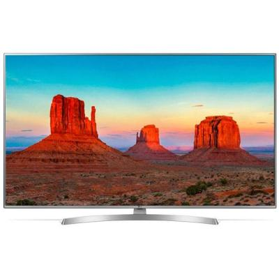 Телевизор lg 43uk6950plb, 43 инча 4k ultrahd tv, ips 4k display 3840 x 2160, dvb-t2/c/s2, smart webos 4.0,thinq ai, wifi 802.11ac, 43uk6950plb