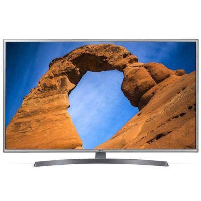 Телевизор lg 43lk6100plb, 43 инча led full hd tv, 1920x1080, dvb-t2/c/s2, smart webos 4.0,thinq ai,wifi 802.11ac, active hdr,hdmi, ci, lan, widi, mira