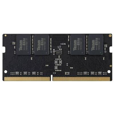 Памет team group elite ddr4 so-dimm -  4gb 2400mhz cl16-16-16-39 1.2v, team-ram-ddr4-sodimm-4gb-2400