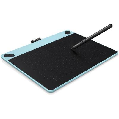 Графичен таблет wacom intuos art blue pen & touch medium, син, wacom-tab-art-blue-m