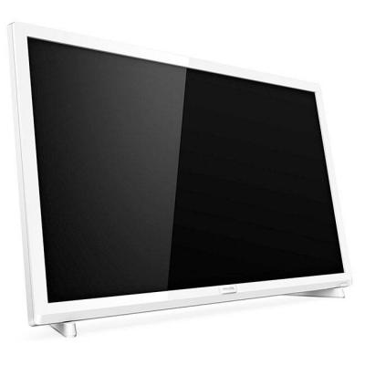 Телевизор philips 24 инча fhd tv, dvb t/c/t2/t2-hd/s/s2, incredible surround, clear sound, 6w, бял, 24pfs5603/12