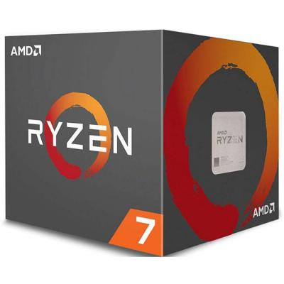 Процесор amd cpu desktop ryzen 7 8c/16t 2700 (4.1ghz,20mb,65w,am4) box with wraith spire (led) cooler, yd2700bbafbox