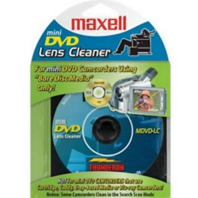 Dvd-r camcorder mini 8 см/ почистващ диск maxell /за камери/ blister 1 бр. в pvc case, ml-ddvd-r-8sm-lenscleaner