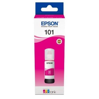 Бутилка с мастило ink cartridge epson 101 ecotank magenta ink bottle for l4150, l4160, l6160, l6170, l6190, c13t03v34a
