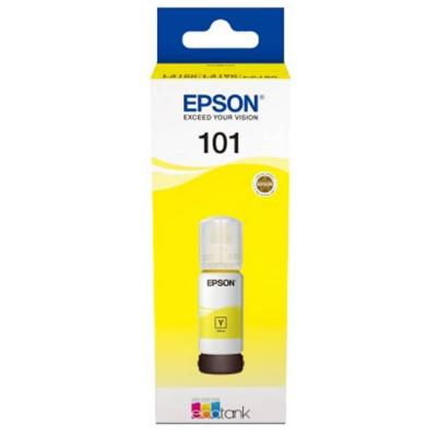 Бутилка с мастило ink cartridge epson 101 ecotank yellow ink bottle for l4150, l4160, l6160, l6170, l6190, c13t03v44a