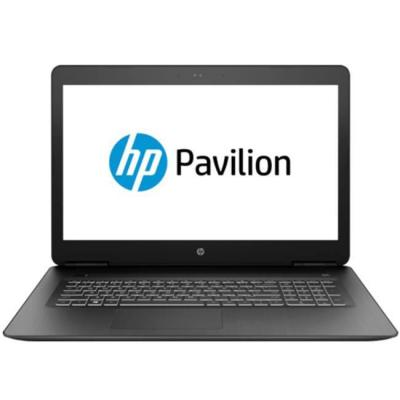 Лаптоп hp gaming pavilion 17-ab401nu, core i7-8750h hexa(2.2ghz,up to 4.10ghz/9mb/6c), 17.3 fhd ips uwva ag+webcam, 8gb 2666mhz 1dimm, 256gb, 4mu13ea