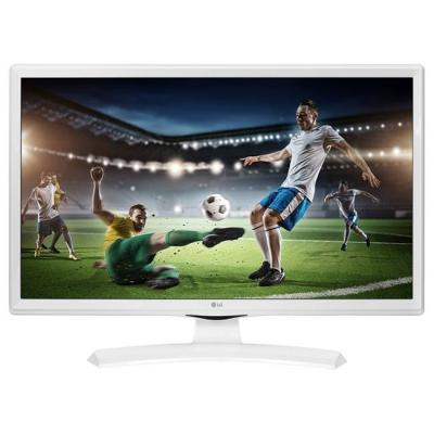 Монитор lg 24tk410v-wz, 23.6 wva, led non glare, 5ms gtg, 1000:1, 5000000:1 dfc, 250cd, 1366x768, hdmi, бял, 24tk410v-wz