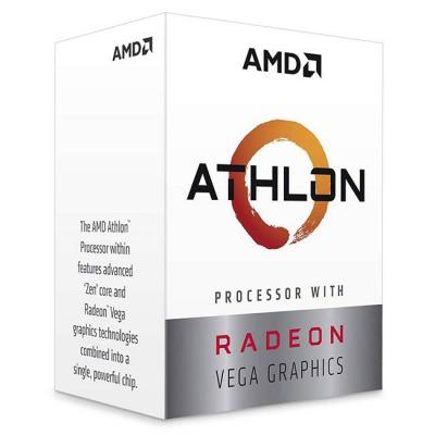 Процесор amd athlon 200ge, 3.2ghz, am4, radeon vega 3 graphics