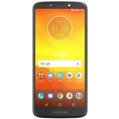 Смартфон moto e5 ds 2/16g gray/ 022ro, 5.7 инча hd+ ips 1440x720, 16gb, dual sim, сив