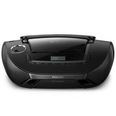 Cd радиокасетофон philips, digital audio broadcasting, cd, mp3-cd, usb, azb1839