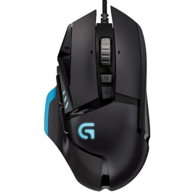 Мишка logitech g502 910-004615 proteus spectrum rgb gaming mouse 12,000 dpi refurbished