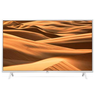 Телевизор lg 43um7390plc, 43 инча uhd, direct led (3840x2160), dvb-c/t2/s2, 4k active hdr, webos thinq ai, wi-fi, bluetooth, бял, 43um7390plc