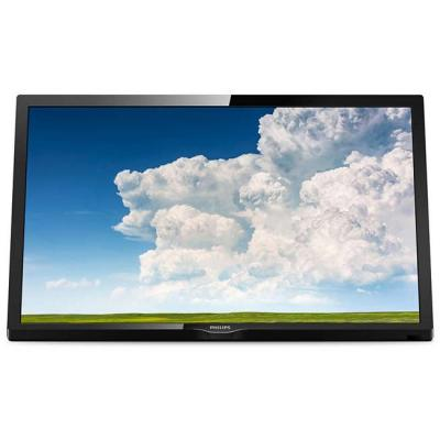 Телевизор philips 24 инча hd tv, dvb-t/t2/t2-hd/c/s/s2, pixel plus hd, incredible surround, 6w, черен, 24phs4304/12