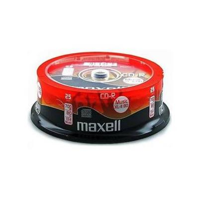 Cd-r music xl-ii maxell, 700mb, 80 min, 25 бр., ml-dc-cdrmus-25