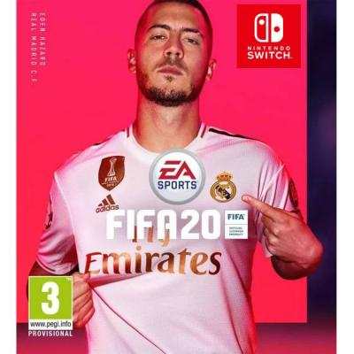 Pre-order игра fifa 20 за nintendo switch