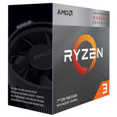 Процесор amd ryzen 3 3200g 3.6g/box, am4, radeon vega 8 graphics, 65w tdp, yd3200c5fhbox
