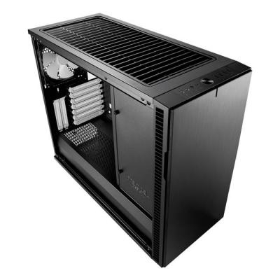 Кутия за компютър fractal design define r6 usb-c – black, 3 x dynamic x2 gp-14, fd-ca-def-r6c-bk