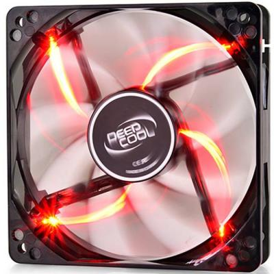 Вентилатор deepcool fan wind blade 120 red dp-windb-rd, dp-windb-rd_vz