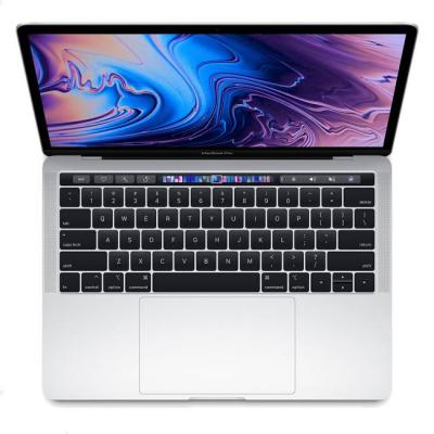 Лаптоп apple macbook pro 13 инча/touch bar, intel core i5-8257u, 8gb lpddr3, 256gb ssd, thunderbolt 3, silver, muhr2ze/a