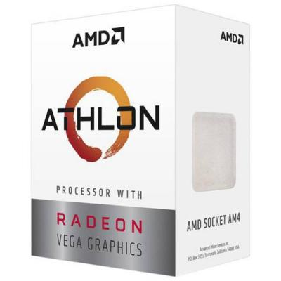 Процесор amd athlon 3000g, 2-core 3.5 ghz, 5mb/35w/am4/box, amd-am4-atlhon-3000g-box