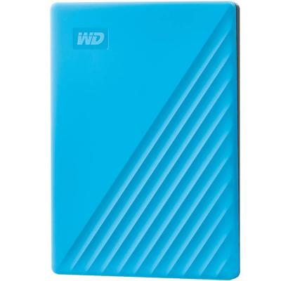 Външен диск 2tb usb 3.2 (gen 1) mypassport sky blue, син, wdbyvg0020bbl