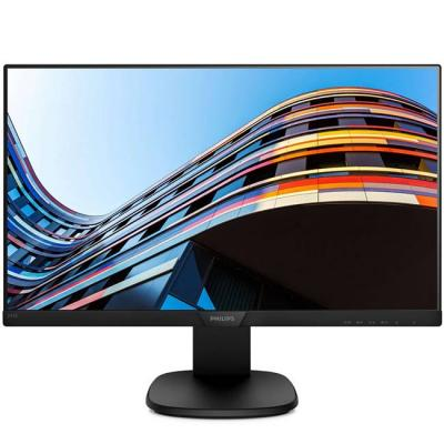 Монитор, philips 243s7ehmb, 23.8 инча wide ips, led, 5ms, d-sub, hdmi, dp, headphone out, speakers, черен, 243s7ehmb/00