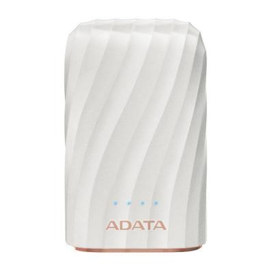 Външна батерия adata p10050c white, 10050 mah (rechargeable li-ion battery), usb-c, ap10050c-usbc-cwh