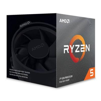 Процесор amd ryzen 5 3600xt, 3.80 ghz (4.50 ghz turbo), am4, 3mb l2/32mb l3, sensemi technology, box, 100-100000281box