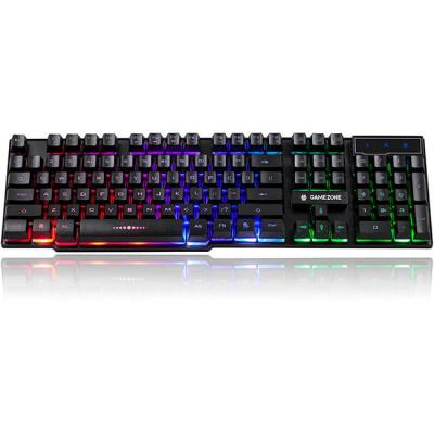 Геймърска клавиатура tracer gamezone loccar, led keyboard backlight, черен, trakla46651