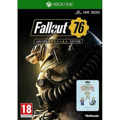 Игра fallout 76 special edition xbox one game + 3 pin badges for xb1 - new & sealed