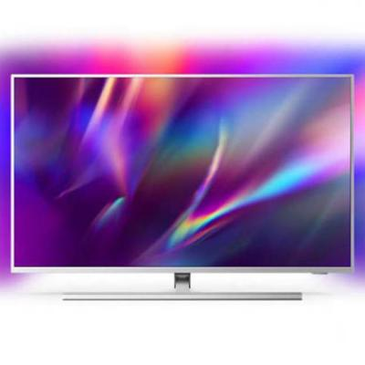 Телевизор philips 43 инча, ambilight tv 4k uhd led android tv, сив, 43pus8505/12