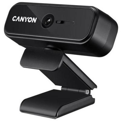 Уебкамера canyon c2, 720p hd, usb2.0, черна, cne-hwc2