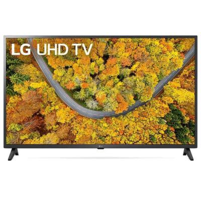 Телевизор lg 43up75003lf, 43 инча 4k ips ultrahd tv 3840 x 2160, dvb-t2/c/s2, webos smart tv, 4k, wifi, usb, bluetooth, dark gray, 43up75003lf