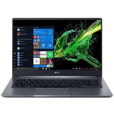 Лаптоп acer swift 3 sf314-57g-74ys, 14 инча full hd (1920х1080), ips, intel core i7-1065g7, geforce mx350, 8 gb ddr4, 512 gb ssd, win 10, hdmi, сив
